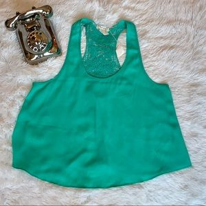 Beautiful Sleeveless Blouse Size L